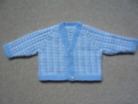 Cardigan - baby boy, brand new, hand knitted