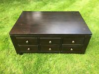 Coffee table 6 draws chest