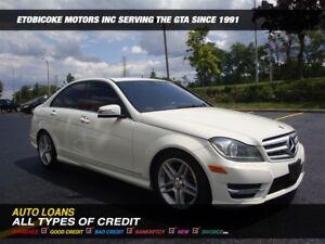2012 Mercedes-Benz C-Class C300 4MATIC / NAVIGATION