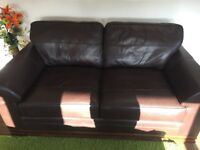 3 piece brown suite & 2 piece brown suite. In excellent condition. NEEDS GONE ASAP