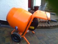 Belle 150 electric cement mixer