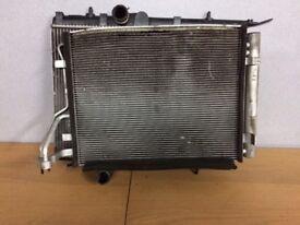 Kia Rio radiator pack 11-17