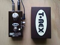 T Rex Fat Shuga Boost/Overdrive/Reverb Pedal