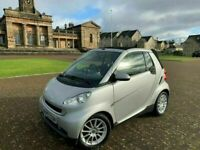 2010, Smart Fortwo Passion, Convertible, 48,400miles, S/Hist x4*, 2 Door, Petrol, Automatic. K