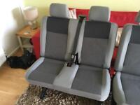VW T5 Rear Double Seat