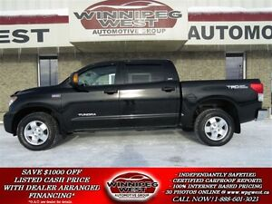 2013 Toyota Tundra SR5 TRD OFF ROAD 4X4, CREW MAX, SUNROOF, BLUE