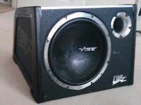 Car subwoofer + phono cable - Vibe CBR 12 Evolution Black Air II+, 1600w