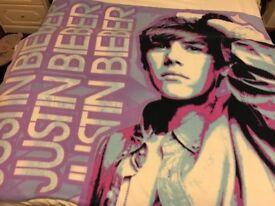 Justin Beiber blanket