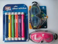 Kids Swimming Accessories BRAND NEW (see description for prices)