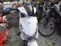 Peugeot 50cc moped kisbee50