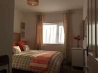 Large light fully furnished double bedroom