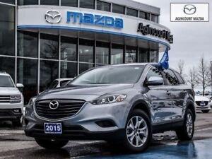 2015 Mazda CX-9 GS-7-Passenger, Leather, Power Seat, Sunroof