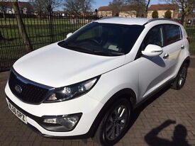 Kia Sportage 1.7 CRDi Axis Edition ISG 5dr, Hight Spec, Under Warranty, Nearly New