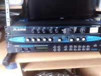 3 Items x Alesis Quad & Alesis Microverb & Zoom Vibratrem Studio/(can be split up)