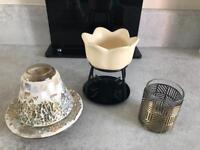 Yankee candle burner holder shade
