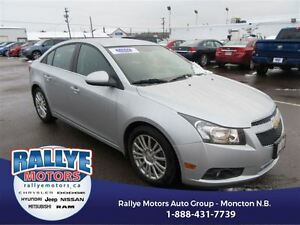 2011 Chevrolet Cruze ECO! ONLY 77K! Alloy! Trade-In! Save!
