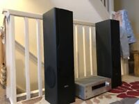 Beng 200 watts speakers with Yamaha amplifier. It's in excellent condition