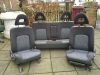 MITSIBISHI L200 ANIMAL van seats