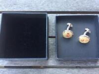 Alexandra Mosher Bermuda sand cuff links