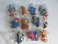 11 x McDonalds Happy Meal Soft Toys Noddy, Paddington, Sooty etc. Brand New