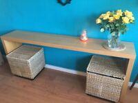 Long IKEA Side Table