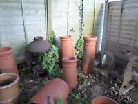Terrycotta Chimney Pots and cowles
