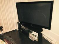 "58"" Samsung plasma TV,stand, cable box, blue ray dvd $850 obo"
