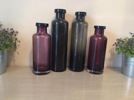Zara decorative vases - new condition £10 for all 4 ovno