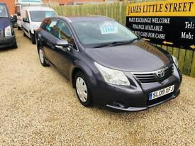 Toyota avensis t2 1.8 Estate 09 reg excellent condition superb big car px welcome