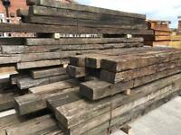 🐝Used Railway Sleepers ~ £2 Per Foot
