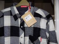 Kickers Mens Check Shirt - Brand New with Tags (XL) £12