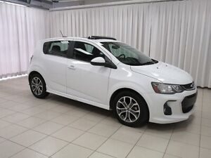 2018 Chevrolet Sonic A NEW ADVENTURE IS CALLING!! LT RS TURBO 5D