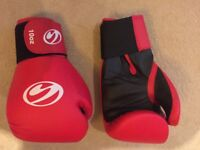 red boxing gloves. New