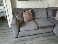 Grey DFS cornersofa