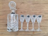 Brand new in box, perfect condition, Royal Doulton Crystal Decanter Set - Open to offers