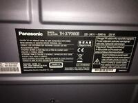 "36"" plasma Panasonic tv and stand"