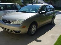 2007  Focus SE Wagon $1200.(SAFETIED)  Not a Rebuild (Carproof)