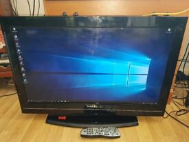 Toshiba 32 inch 1080p full HD TV with HDMI & freeview