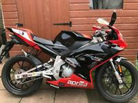 2010 aprillia rs 50 my06 only 2901 miles on clock