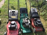 3 lawn mower s