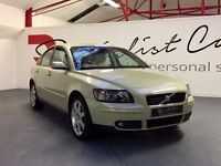 VOLVO S40 2.0 DIESEL SE [ONLY 36000 MLS / 1 OWNER / FULL VOLVO SERVICE HISTORY / STUNNING EXAMPLE]