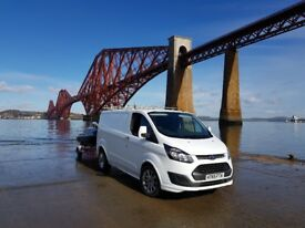 Ford Transit Custom - Sport body kit and genuine Sport Alloys