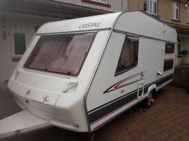 Cristall Sprint 470TK 2005 Caravan. CRIS Registered