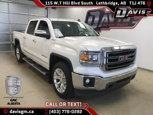 Used 2015 GMC Sierra 1500 SLT-Heated/Cooled Leather, Heated Stee