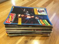 Film Review Magazine Collection 47 issues (between Feb 1985-June 1989)
