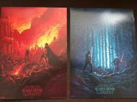 Genuine Set Of Star Wars Force Awakens IMAX Posters