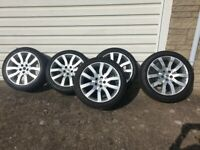 20 Inch Range Rover Alloys and tyres, set of 5