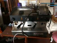 Rancilio coffee machine & grinder