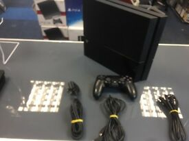 1TB PS4 / 3 MONTHS WARRANTY/FULLY WORKING / CAN EXCHANGE/SWAP/ BUYING FROM SHOP