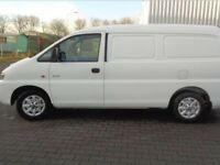Hyundai h200 lwb van left hand drive lhd year 2006 export year 2006 ideal for export